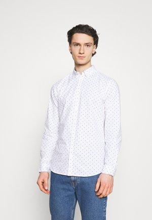 JJFRANK PLAIN - Camicia - white