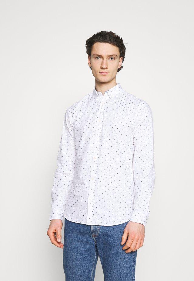 JJFRANK PLAIN - Košile - white