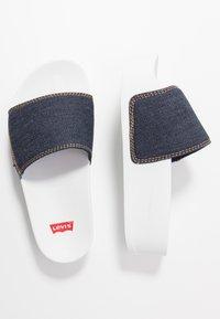 Levi's® - JUNE BOLD - Sandalias planas - navy blue - 3
