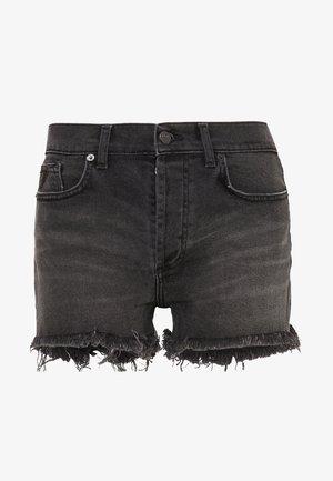 SANTA - Denim shorts - dark stone