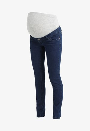 MLLOLA - Straight leg jeans - dark blue denim