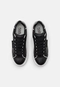 KARL LAGERFELD - MAXI KUP LACE - Sneakersy niskie - black - 4