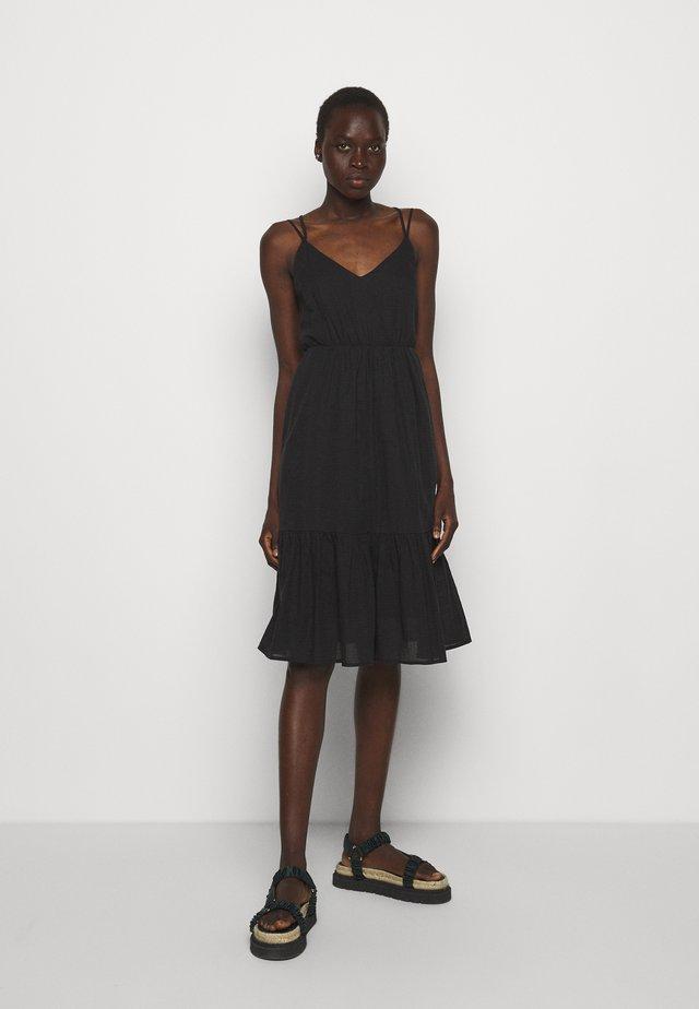 ANNABELLA - Korte jurk - black print