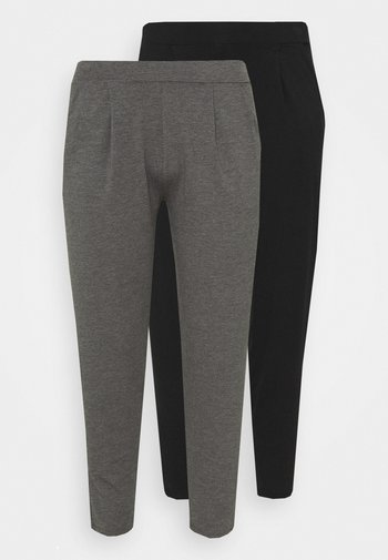 TAPERED LEG TROUSERS 2 PACK