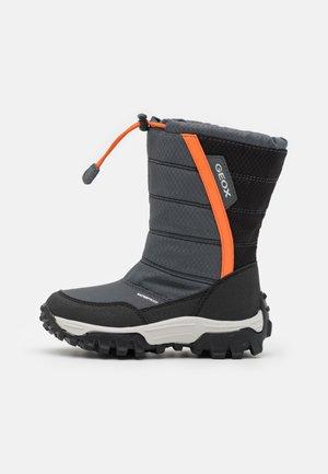 HIMALAYA BOY WPF - Zimní obuv - dark grey/orange