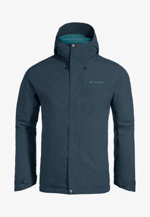 Winter jacket - steelblue