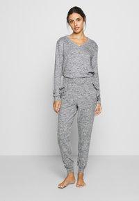 Anna Field - SET - Pyžamová sada - mottled grey - 0