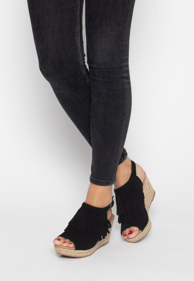 ASHLEY  - High heeled sandals - black