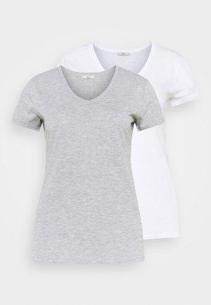 FASOMA2 PACK - T-shirts - white/grey