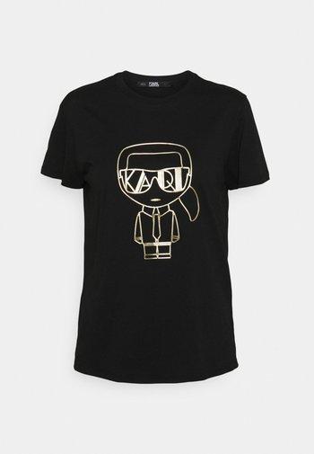 IKONIK ART DECO  - Print T-shirt - black