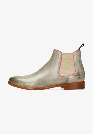 SNAKE KING - Ankle boots - grey