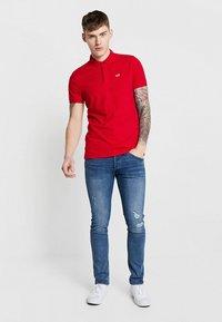 Jack & Jones - JJIGLENN JJFOX  - Slim fit jeans - blue denim - 1