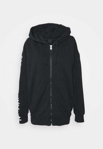 CIVICA FELPA - Zip-up sweatshirt - black