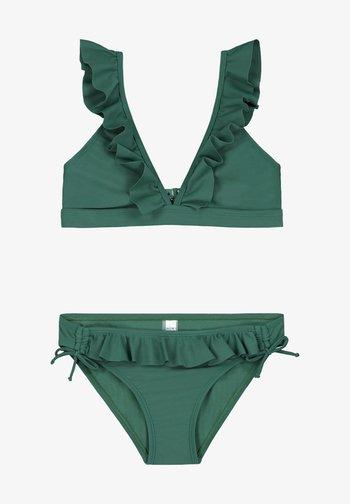 SET - Bikini - hunter green