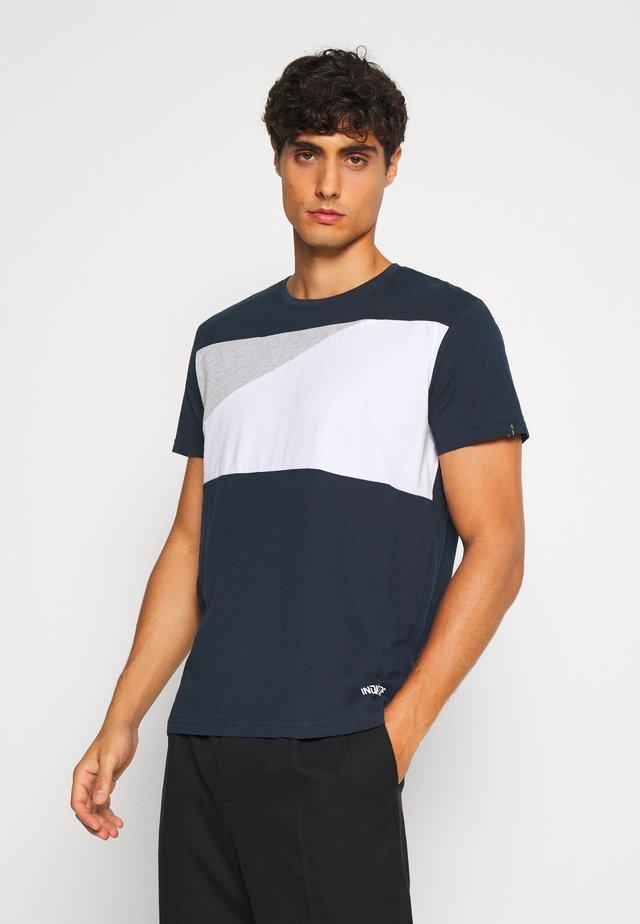 EBEL - Print T-shirt - navy