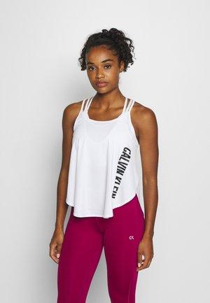TANK - Treningsskjorter - white