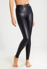 Pieces - Legginsy - black - 0