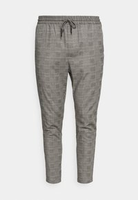 Only & Sons - ONSLINUS LIFE CHECK  - Pantalon classique - medium grey melange - 3
