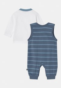 Jacky Baby - HAPPY CAR FRIENDS SET - Long sleeved top - blue/white - 1