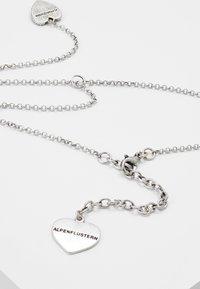 Alpenflüstern - TRACHTENHERZ - Necklace - silver-coloured - 2