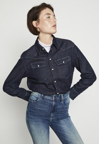 G-Star - WESTERN RELAXED  - Button-down blouse - raw denim - 0