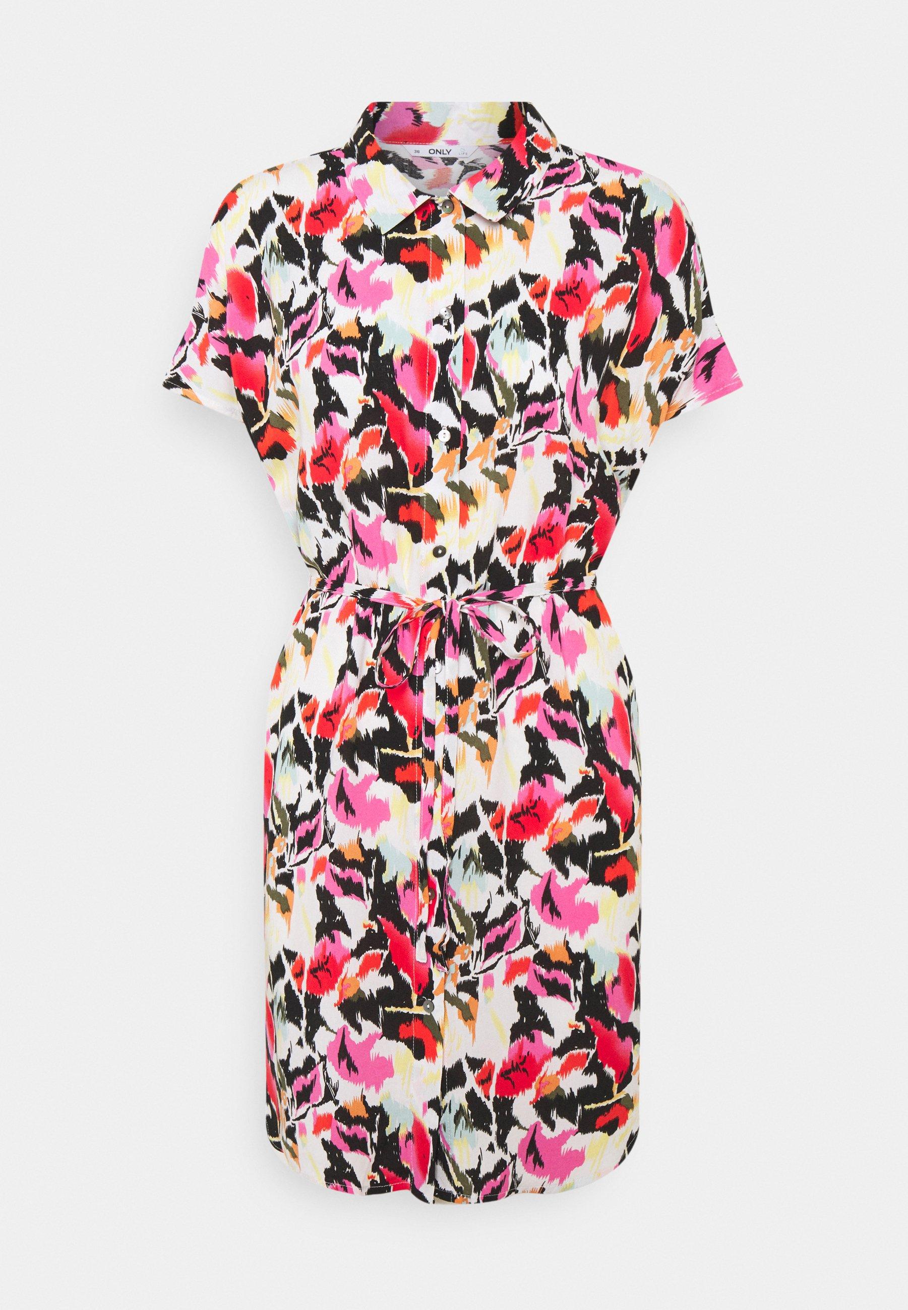 Mujer ONLNOVA LIFE SHIRT DRESS  - Vestido camisero