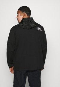 URBN SAINT - USELKON - Zip-up hoodie - black - 2
