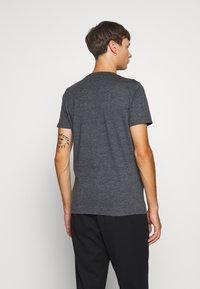 Hollister Co. - CREW - Print T-shirt - black - 2