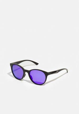 SPINDRIFT UNISEX - Sonnenbrille - pol black/violet