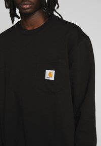 Carhartt WIP - POCKET - Sweatshirt - black - 5
