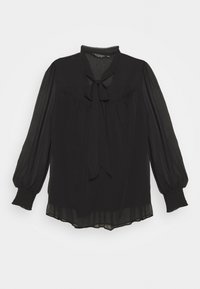 Dorothy Perkins Curve - LONG SLEEVE TIE  - Bluser - black - 0