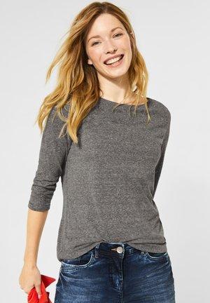 MIT NIETEN - Long sleeved top - grau