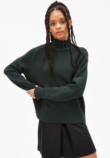 CAAMILE - Jumper - vintage green