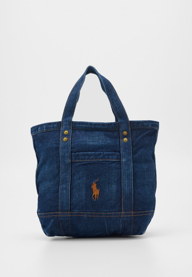 SMALL - Handbag - dark denim