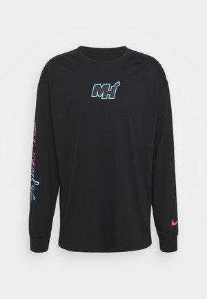NBA MIAMI HEAT CITY EDITION  - Club wear - black