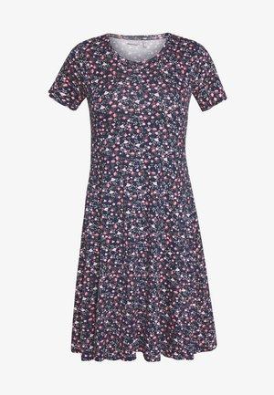 FRITDOTSA DRESS - Day dress - navy mix