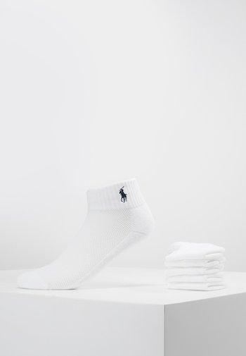POLY BLEND SOLE 6 ACK - Socks - white