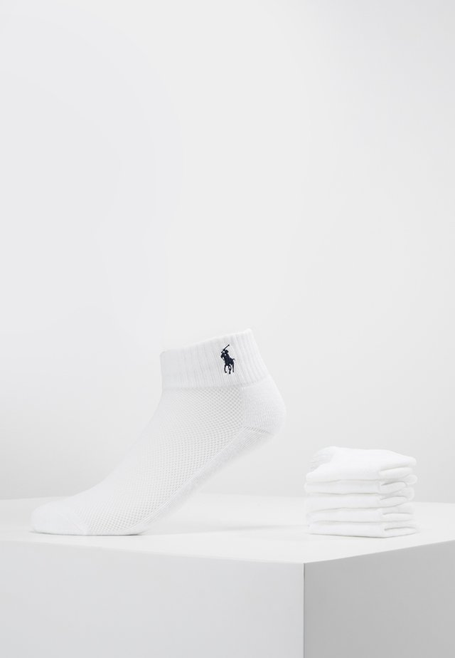 POLY BLEND SOLE 6 ACK - Socks - white