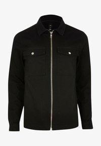 River Island - Denim jacket - black - 4