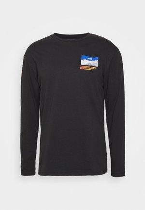 JORCHANGES TEE CREW NECK - T-shirt à manches longues - black