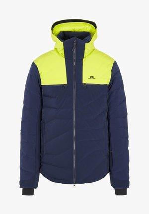 Ski jacket - leaf yellow