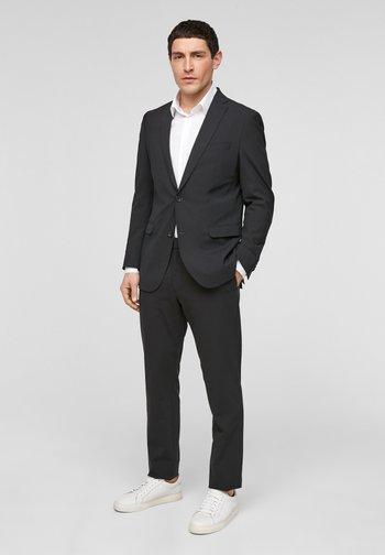 SLIM FIT - Suit jacket - black