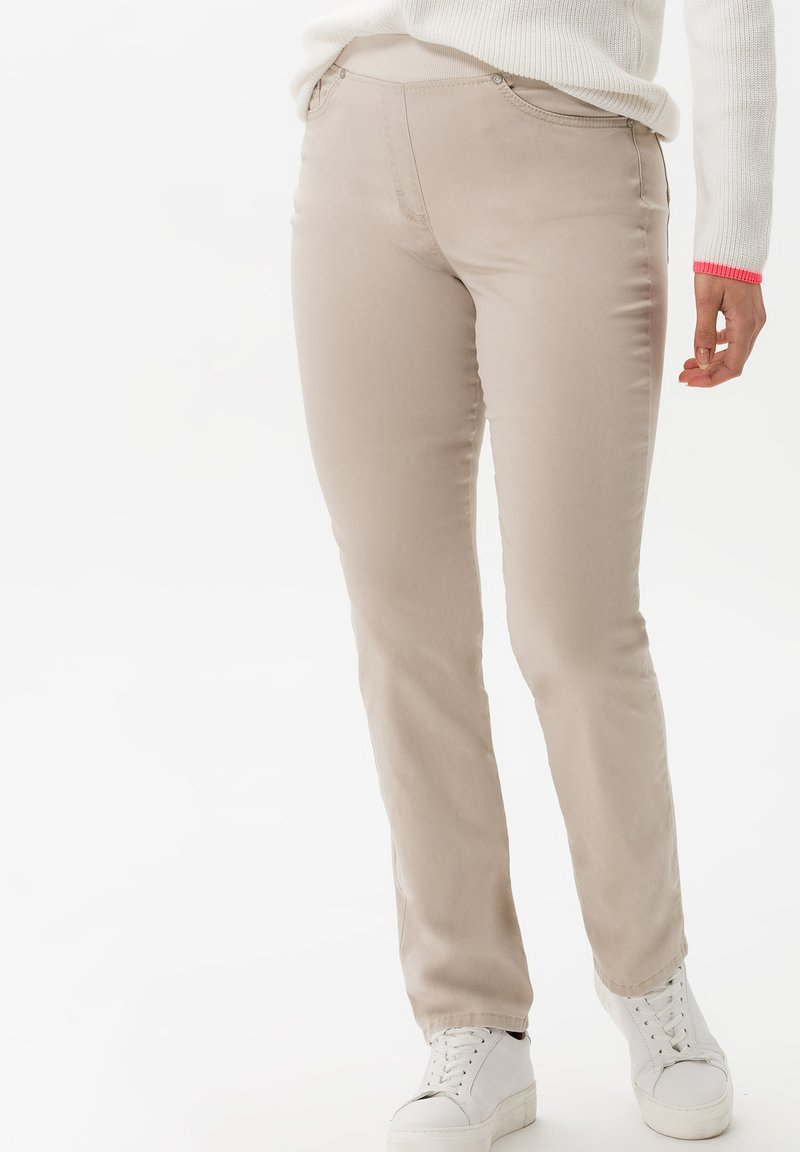 BRAX - STYLE PAMINA - Trousers - sand