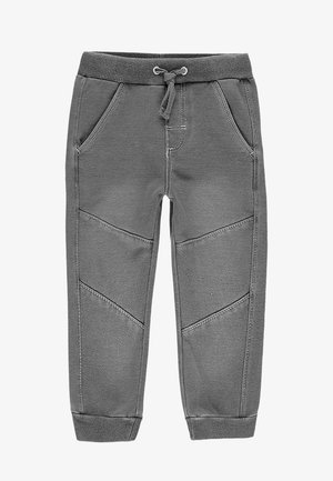 Relaxed fit jeans - gret