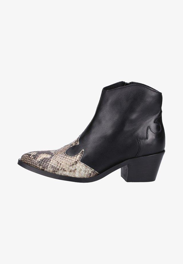 Støvletter - Black/Beige