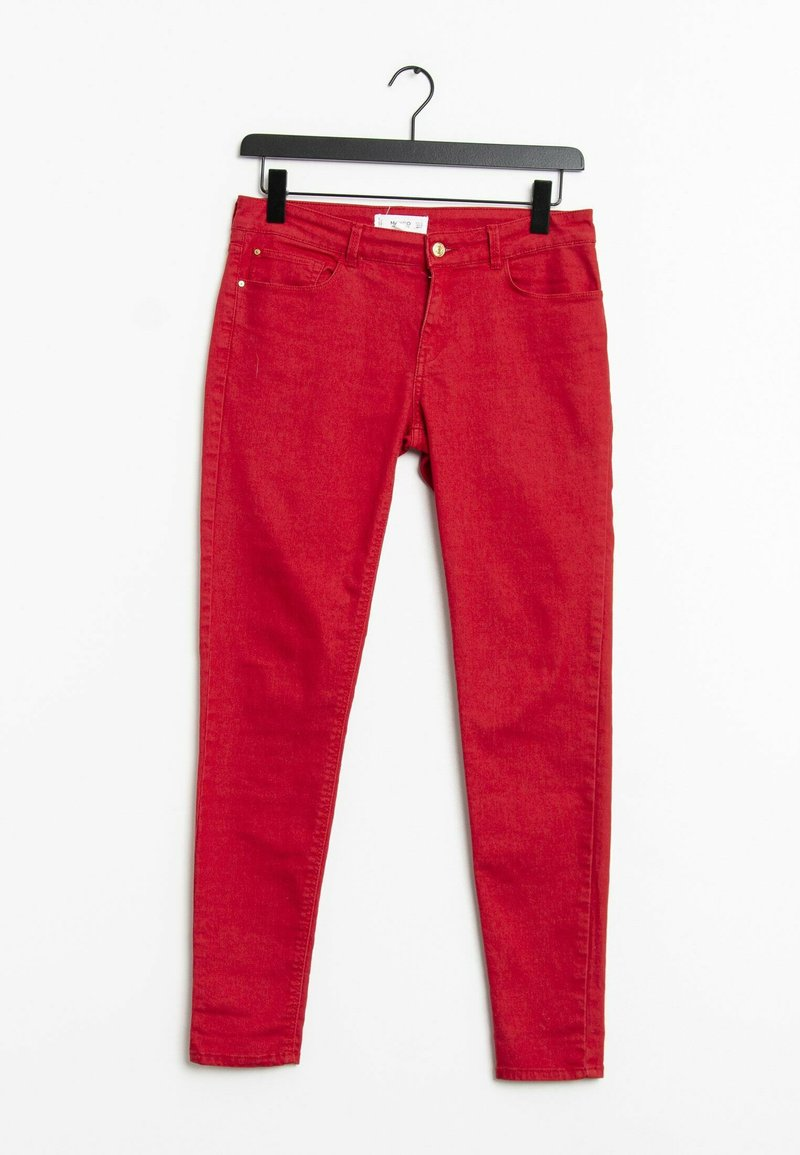 Mango - Jeans Skinny Fit - red
