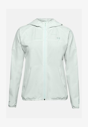 Training jacket - seaglass blue