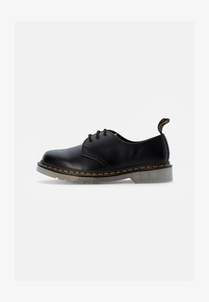 ICED EYE SHOE - Chaussures à lacets - black smooth