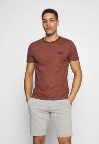 Superdry - VINTAGE CREW - Basic T-shirt - desert orange grit - 0
