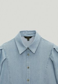 Massimo Dutti - Button-down blouse - light blue - 2